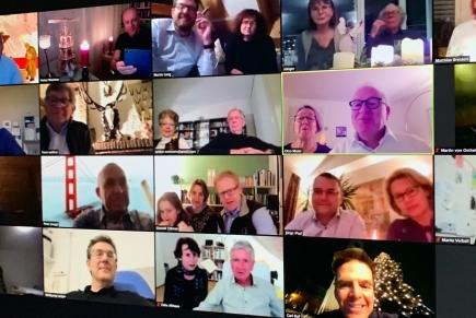 Solange wegen COVID-19 keine physischen Treffen stattfinden, führt der Club Oerlikon eine Zoom-Konferenz durch.